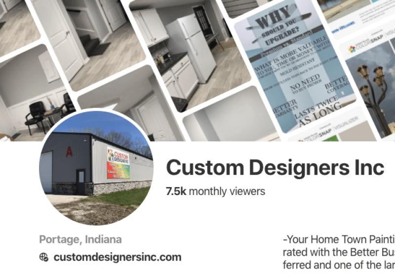 Custom Designers Inc Pinterest