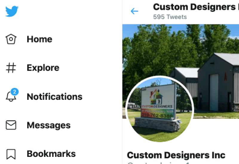 Custom Designers Inc Twitter