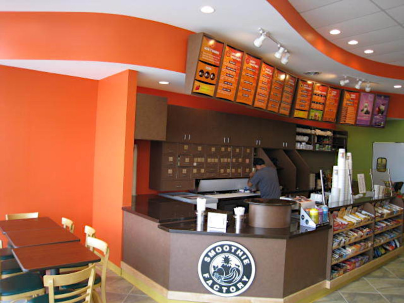 smoothie commercial interior